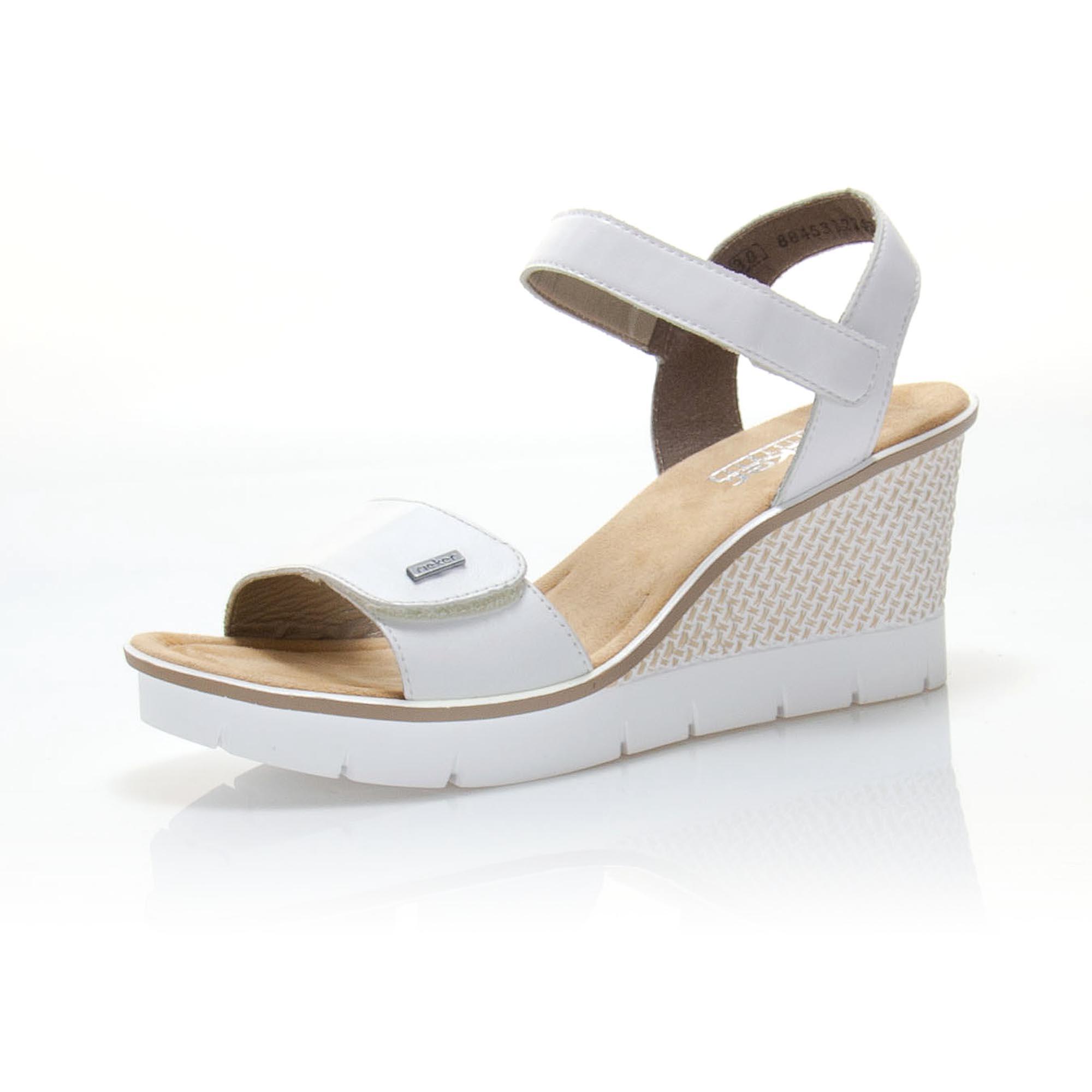 f9c9c44ea826 Dámské sandály RIEKER 68554-80 LETNÍ