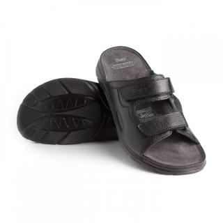 1c132aa25118 Zdravotní pantofle BATZ - Mike black PÁNSKÉ LETNÍ empty