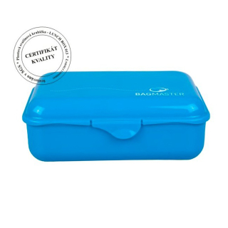 Krabička na svačinu Bagmaster LUNCH BOX 013 B BLUE
